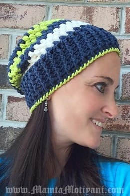 Crochet Slouchy Beret Beanie Pattern Unique & Easy