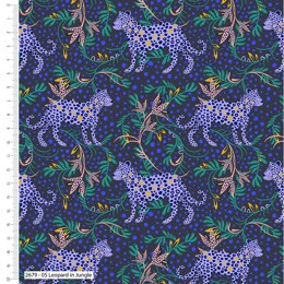 Craft Cotton Company Tropical Leopard - In Jungle