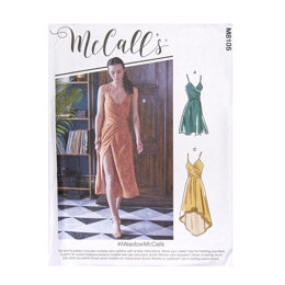 McCall's Misses' Dresses M8105 - Sewing Pattern