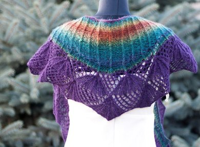 Umbrellas Shawl