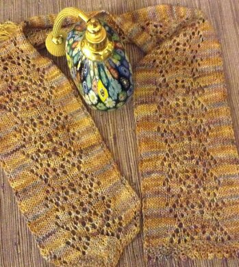 Southeast Asia Indigenous Design Lace Knit Scarf