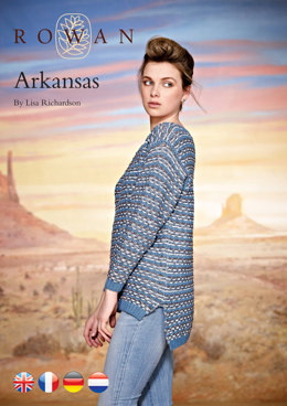 Arkansas in Rowan Wool Cotton 4 Ply