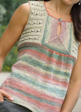 Solstice Top in Knit One Crochet Too Dungarease - 2100 - Downloadable PDF