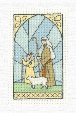 Heritage Shepherds Traditional Card Cross Stitch Kit