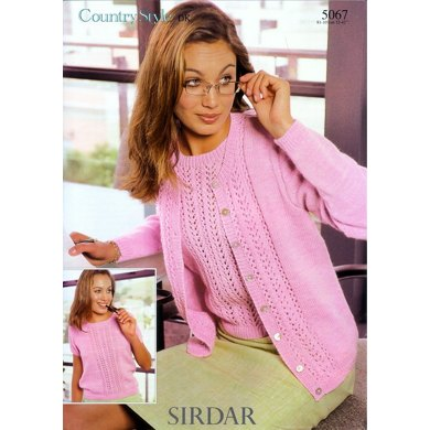 Twin Set in Sirdar Country Style DK - 5067