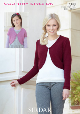 Cardigans in Sirdar Country Style DK - 7348