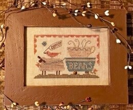 Homespun Elegance Delivering The Coffee Beans - Country Spirits Collection - HECS111 - Leaflet