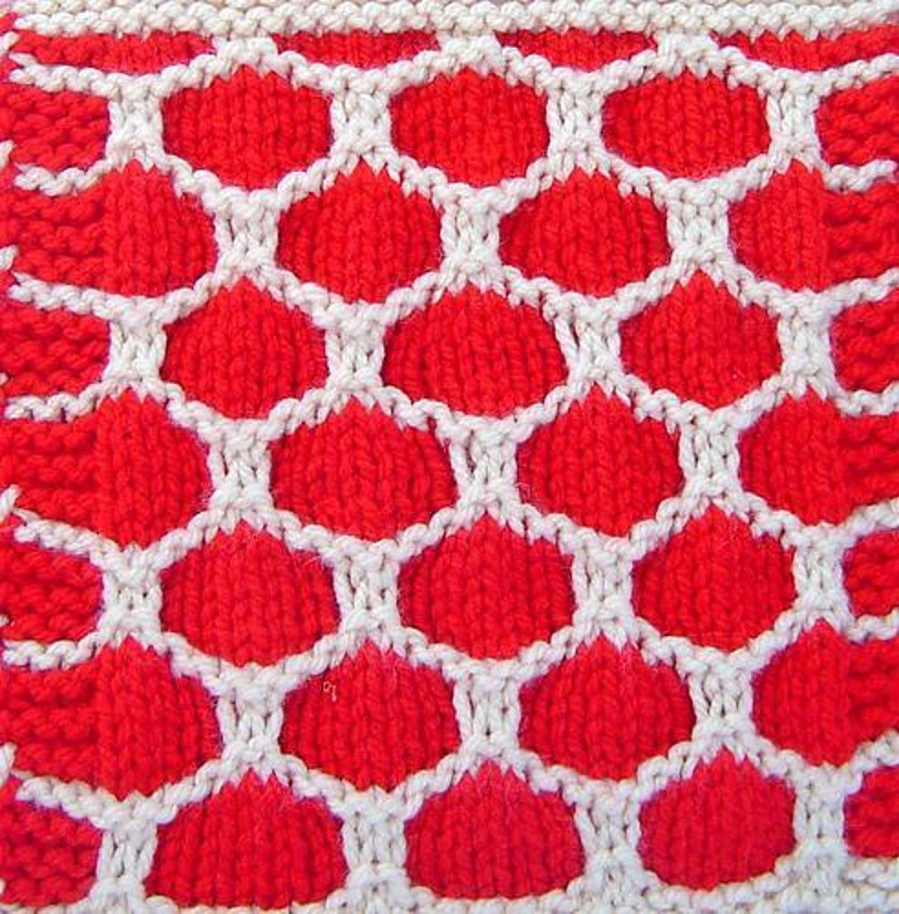 WASPS NEST Square Knitting pattern by Terry Morris | Knitting ...