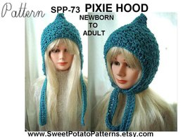 Sweet Potato Pixie Hat | Crochet Pattern by SweetPotatoPatterns