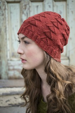 Xumi Hat in Berroco Cosma - 348-6