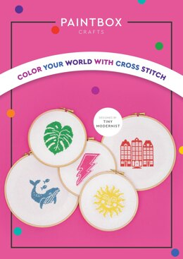 Paintbox Crafts Colour Your World With Cross Stitch Patterns