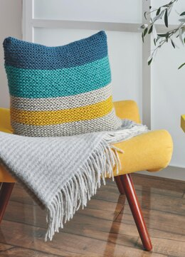 Birga Cushion in Bravo Big in Schachenmayr - S10767 - Downloadable PDF