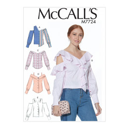 McCall's Misses' Tops M7724 - Sewing Pattern