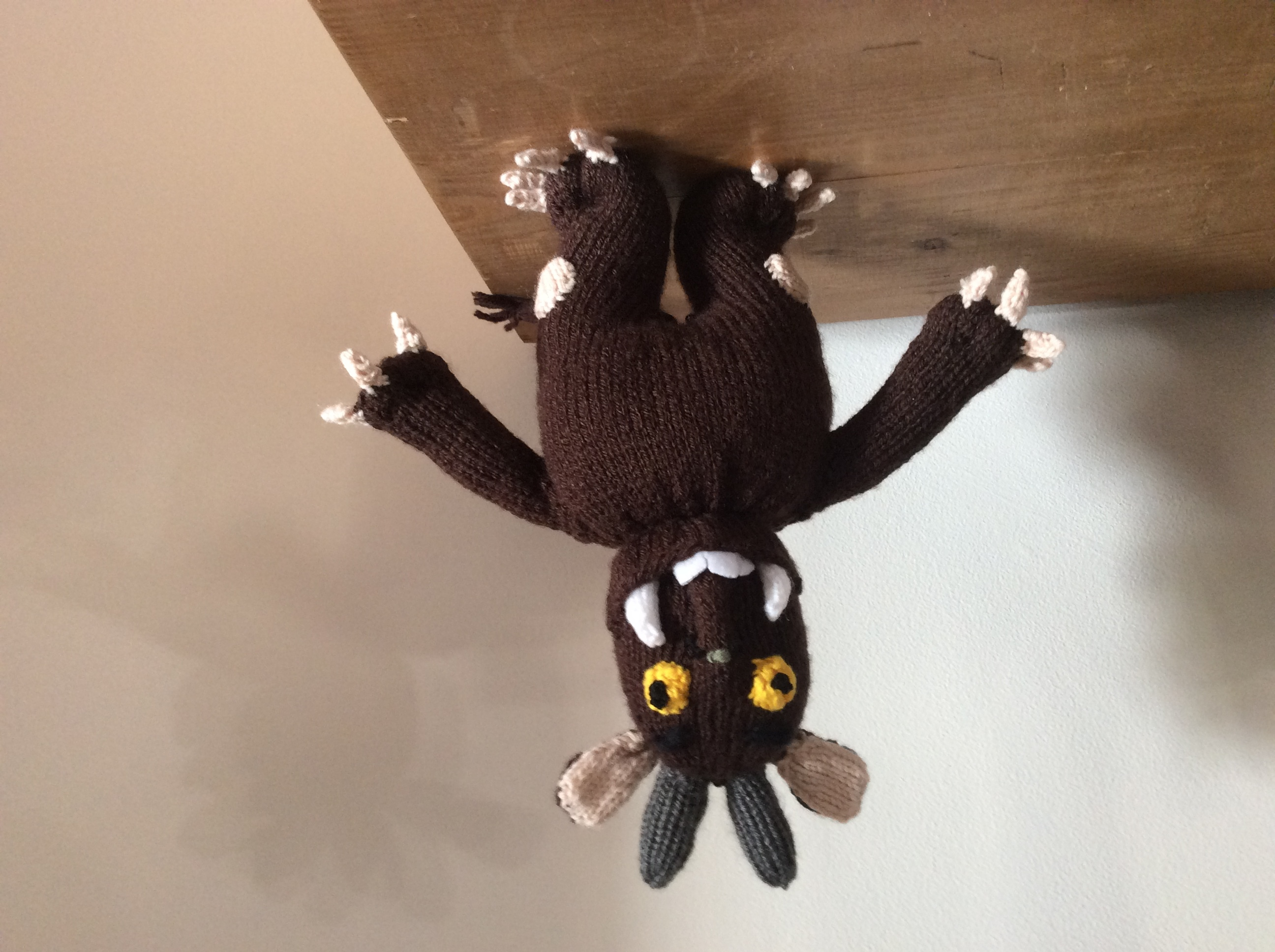 Knitting Pattern For Gruffalo Jumper : Georges Gruffalo knitting project by Sally M LoveKnitting