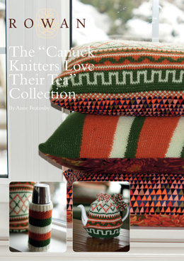 The Canuck Knitters Love Their Tea Collection in Rowan Pure Wool Worsted
