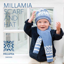 Hat And Scarf in MillaMia Naturally Soft Merino - Downloadable PDF