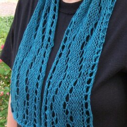 "The Long and Winding Road scarf (5"" x 40"")"