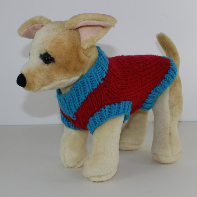 Battersea Dogs Home Knitting Pattern Dog Coat : Simple Chunky Dog Coat Knitting pattern by madmonkeyknits
