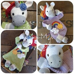 Melly teddy Ragdoll Rainbow Unicorn