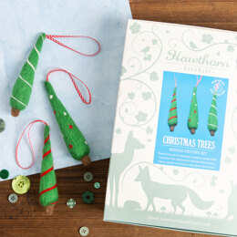 Hawthorn Handmade Christmas Trees Needle Felting Kit - HH2003517
