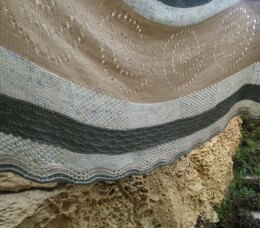 Ancient Spirals Shawl