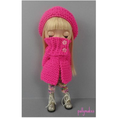 """Winter Jewels set for 12"""" Blythe and other dolls"""