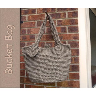 Crochet Bucket Bag Pattern : Crochet Bucket Bag Crochet pattern by Marilyn Lambert
