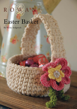 Easter Basket in Rowan All Seasons Chunky