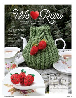Rib and Stawberry Tea Cosy