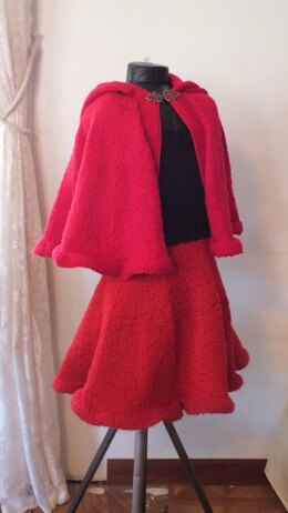 Red Riding Hood Cape X Loom