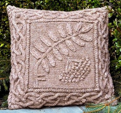 Celtic Rowan Pillow