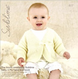 The Fourth Irresistibly Sublime Baby 4 Ply Hand Knit Book By Sublime