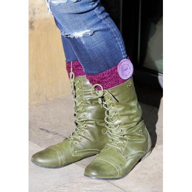 Cabled Bootcuff