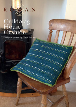 Cuildorag House Cushion in Rowan Pure Wool Worsted