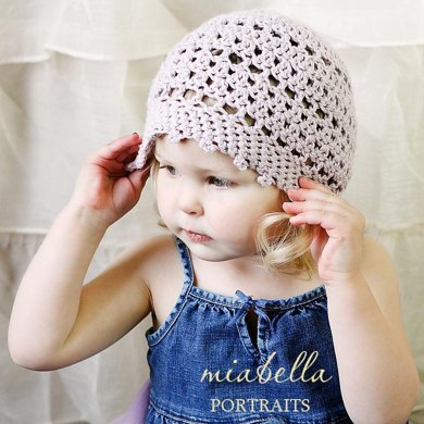 Slouchy Picot Hat