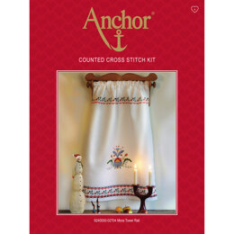 Anchor Mora Towel Rail Cross Stitch Kit