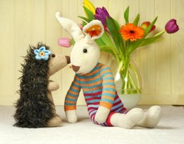 NICE PRICE SET Hare and Hedgehog / SPAR-SET Hase und Igel