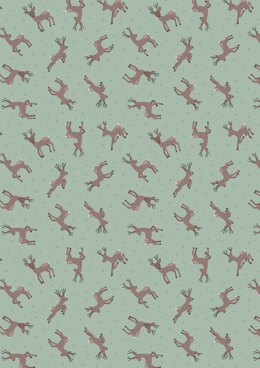 Lewis & Irene Small Things…Country Creatures Deer Sage Cut to Length