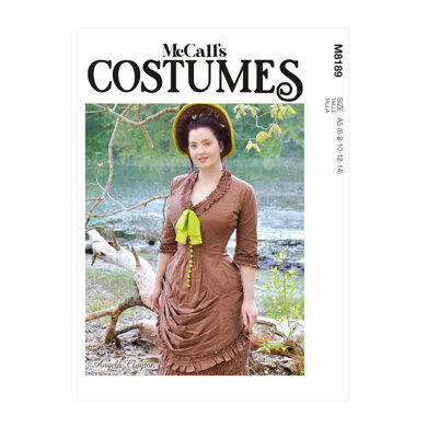 McCall's Misses' Dress M8189 - Sewing Pattern