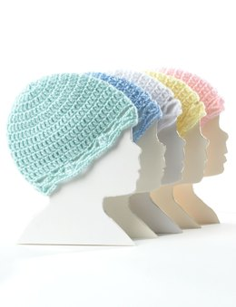 Crochet Baby Hat in Bernat Softee Baby Solids