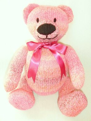 Berry Bear Teddy Knitting Pattern By Laineknits Knitting