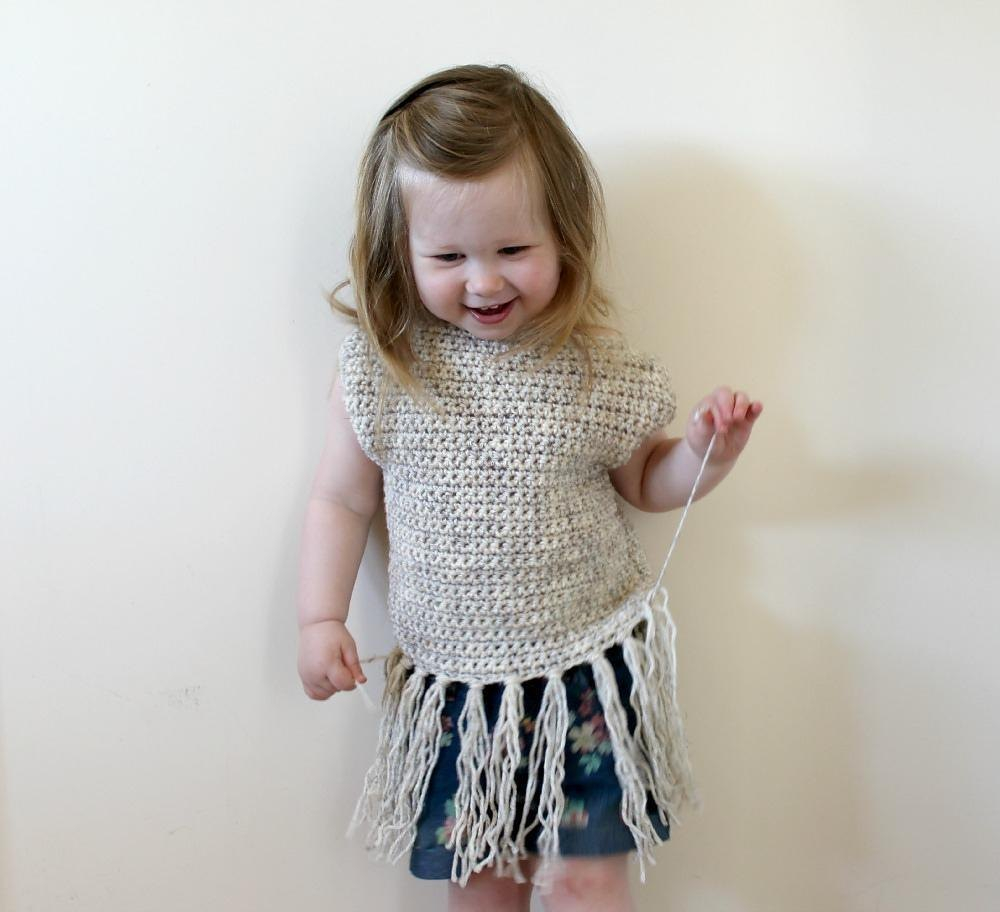 Pdf05 Crochet Fringe Top Crochet Pattern By Freya Esme Collection
