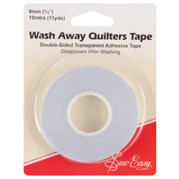 Sew Easy Wash-Away Quilters Tape: 10m x 8mm