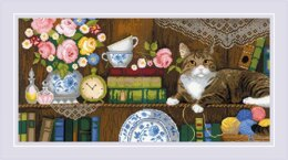 Riolis Home Comfort Cross Stitch Kit - 60cm x 30cm