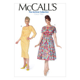 McCall's Misses'/Women's Dresses M7086 - Sewing Pattern