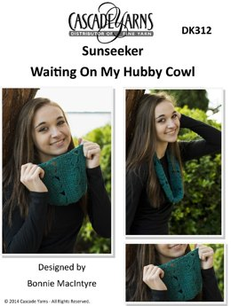 Waiting on My Hubby Cowl in Cascade Sunseeker - DK312