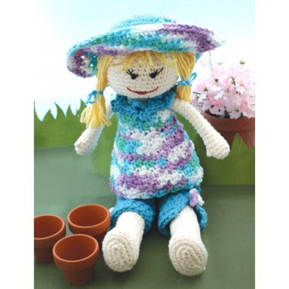 Garden Lily Doll In Lily Sugar And Cream Solids Knitting Patterns