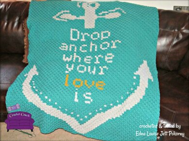 Drop Anchor Where Your Love Is  Afghan