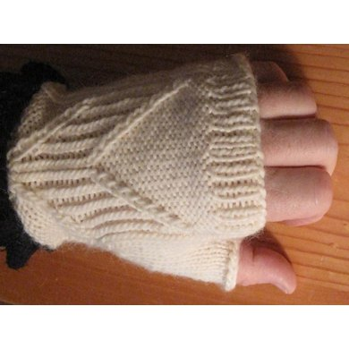 Guitar Player's Fingerless Mitts