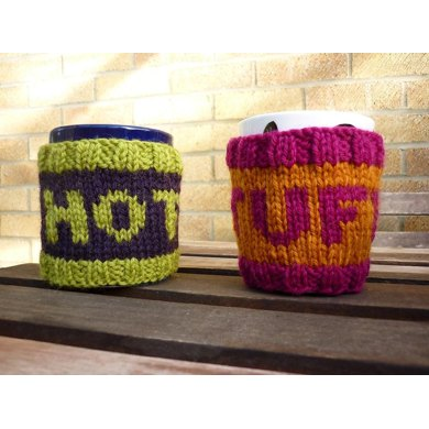 Hot Stuff Coffee Cozies